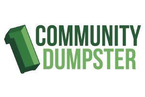1 Community Dumpster